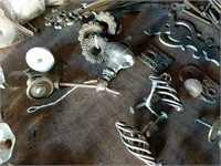 Antique drawer knobs and pulls