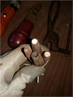 Leather punches and stitching tools