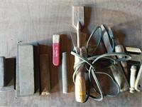 Electric Paint scraper and wetstones