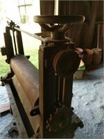 Francis & Bro veneer press