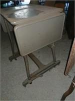Metal typewriter desks