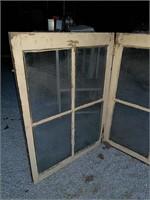 Window on a hinge