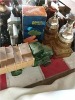 Avon bottles and other perfumes