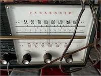 Arvin and Panasonic tube radios