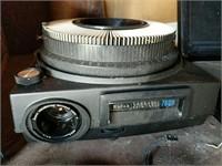 Slide projectors, Polaroid camera