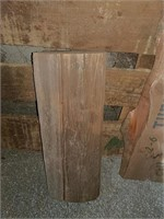 Primative wood project pieces