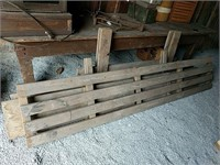 Wagon gate and side panels