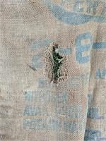 Farm Bureau burlap bag