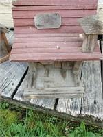 Bird house and feeder