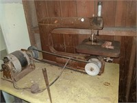 Antique Rockwell scroll saw