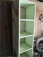 Tweedy vertical shelving unit