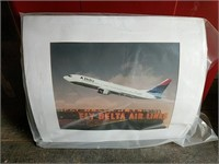 Delta Airlines poster