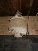 Sears and Roebuck belt drive wood lathe
