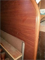 Wooden Formica top Dining room table