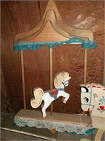 Carousel and piggy banks