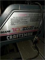 Craftsman 10 inch band saw