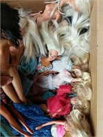 Barbies and other dolls