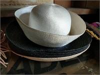 Hats, moccasin kit, silks