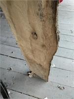 Half log display rack