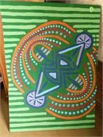 Prints, art and cross stitch