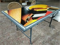 Unique table and chairs