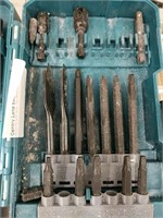 Makita Irwin drill bits and drivers