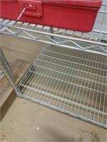 Stainless steel bakers rack