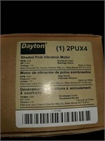 Dayton shaded pole vibratory motor