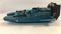 Vintage 1984 GI Joe Water Moccasin Air Fan Boat