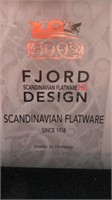 Fjord Scandinavian Flatware Cheese Slicer & Reed
