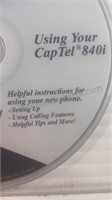 CapTel 840i Captioned Telephone For Hearing
