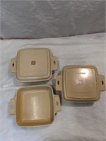 5 Vintage LittonWare Cook 'N Serve Containers &