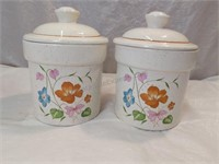 2 Cookie Jars/Canisters