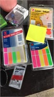 Office supply lot