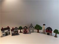 Little Town Porcelain Figures