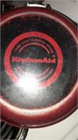 Paul's Dean pans, KitchenAid skillets