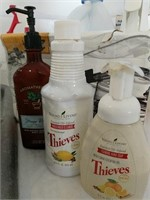 Under the sink lot