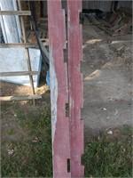 Remaining lumber in Barn