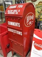 Hilltop mailbox