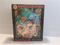 Vintage Halco Witch Mask & Costume