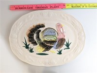 Turkey Serving Platter & Wilton Turkey Cake Pan