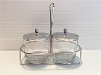Vintage Pyrex Fridge Dishes & Smuckers Jelly/Jam