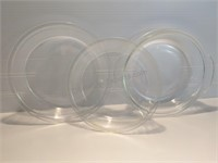 8 Inch, 9 Inch Pyrex Pie Dishes, & 8 Inch