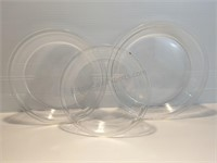 Two 9 Inch Pyrex Pie Dishes, One 8 Inch Pyrex Pie