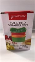 Hand Held Spiralizer Trio (4) NIP