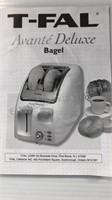 T-Fal Avanté Deluxe Bagel Toaster, Krups Electric
