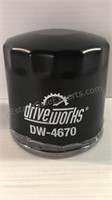 Assorted Oil Filters DW-4670, DW-111 & MGL3387A -