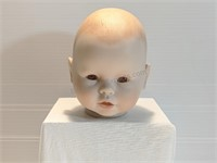 Vintage Ceramic Baby Doll Head