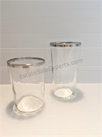 2 Spice Dispensers & Assorted Glasses