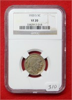 Weekly Coins & Currency Auction 10-2-20